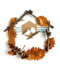 A very simple autumn diy to realize with some branches and some . Quebec, Decoration Creche, Montreal, Arts And Crafts, Diy Crafts, Nature Crafts, Fall Diy, Diy For Kids, Alice