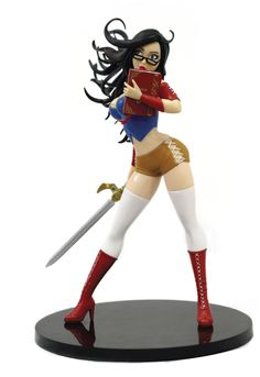 Zenescope's Grimm Fairy Tales: Snow White Bishoujo-Style Statue is a beautiful figure, standing nearly tall. The Comedian, Lex Luthor, Catwoman, Godzilla, Dc Comics, Grimm Fairy Tales, Snow White, Black And White, Beautiful Figure