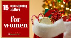 The holiday season is nearing and this is a season of gifts. The stockings are sock-shaped bags that are believed to be filled by Santa Claus (people believe that Saint Nicholas is the Santa Claus) with gifts on the Christmas Eve. Days To Christmas, Christmas Deals, Best Christmas Gifts, Christmas 2017, Christmas Cookies, Best Gifts, Stocking Stuffers For Women, Christmas Stocking Stuffers, Christmas Stockings
