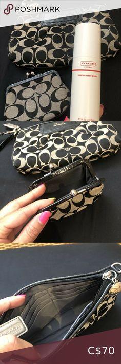 I just added this listing on Poshmark: Coach Wristlet, Coin Purse Bundle. #shopmycloset #poshmark #fashion #shopping #style #forsale #Coach #Handbags Coach Wristlet, Wristlet Wallet, Card Wallet, Coach Handbags, Coach Bags, Leather Clutch, Leather Purses, Lip Whip, Kate Spade Sunglasses