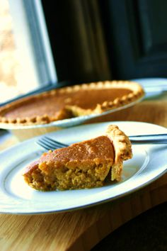 Molasses pumpkin pie recipe (a favorite of poet Henry Wadsworth Longfellow)