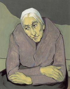 "pintoras: "" Ottilie Roederstein (German / Swiss 1859 - 1937): Devotion (via Swiss Institute for Art Research) """