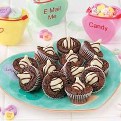 Mini Brownie Treats Recipe