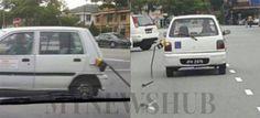 Pam minyak tersangkut dilarikan kereta kancil di Johor Bahru   SEJAK pagi ini gambar sebuah kereta Perodua Kancil yang dilihat tersekat dengan pemegang pam minyak mendapat pelbagai reaksi lucu daripada netizen di media sosial.  Pam Minyak Tersekat Dilarikan Kancil  Visual berkenaan dipercayai dirakam di Taman Universiti Johor Bahru namun tidak dapat dipastikan tarikh sebenar kejadian tersebut.  Menerusi gambar pemandu berkenaan yang menggunakan kereta pusat latihan memandu itu mungkin…