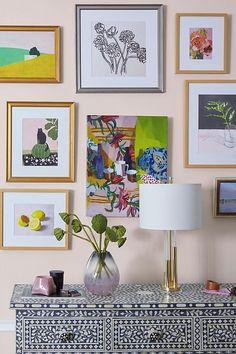 Living room art work wall decor paintings 27 ideas for 2019 Wall Shelves Design, Wall Design, Design Art, Frames On Wall, Framed Wall Art, Wall Décor, Diy Wall, Heart Wall, Inspirational Wall Art