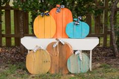 Rustic Farmhouse Pallet Pumpkins DIY, Fall, Halloween, Thanksgiving