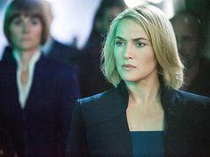 Divergent Movie Still: First look at Kate Winslet as Erudite leader, Jeanine Matthews.