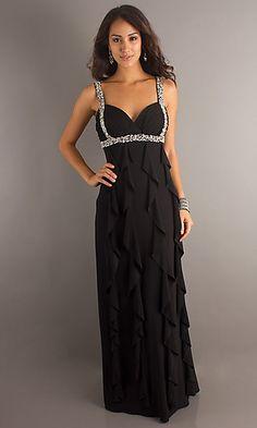 7ed2bbd3b2 Betsy  amp  Adam Floor Length Dress 10674  169.50 Straps Prom Dresses