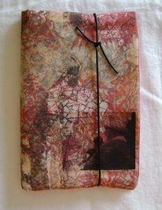 Tutorial – Making Paper Cloth – Updated - Handmade Everything Fabric Journals, Art Journals, Journal Art, Journal Covers, Junk Journal, Journal Ideas, Bullet Journal, Textiles Sketchbook, Art And Craft