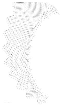 Crochet Shrug Pattern, Crochet Diagram, Crochet Shawl, Knit Crochet, Lace Knitting, Knitting Stitches, Knitting Patterns Free, Crochet Patterns, Knitted Shawls