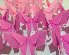 Borboletas em origami. Confeccionadas com papel de origami importado. Decore aniversários, chá de bebê, chá de revelação, chá de fraldas, casamento, bodas, 15 anos, vitrine, eventos corporativos.