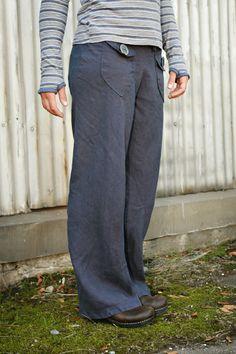 Hemp Bliss Pants - organic clothing - drawstring pants