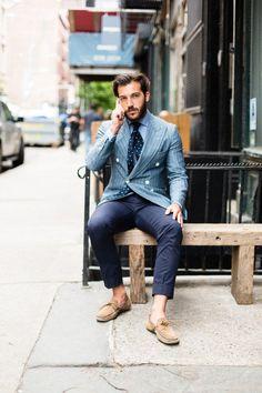 Alex Restivo Blazer Style