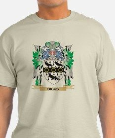 Biggs Coat of Arms - Family Cres T-Shirt for