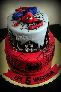 SpiderMan Birthday Cakes Photo Gallery of the Spiderman Birthday