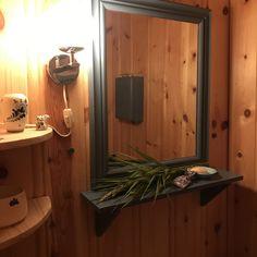 Gjestevaskerommet Mirror, Bathroom, Places, Frame, Furniture, Home Decor, Washroom, Picture Frame, Decoration Home