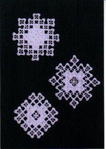 Karen Buell Designs Hardanger Snowflakes I | Shop entertainment | Kaboodle