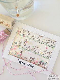 Simply Spring Borders - Papertrey Ink. Card by Nicky Noo Cards #nickynoocards and https://www.facebook.com/nickynoocards/