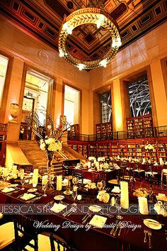 Indianapolis Public Library Wedding Photo By Jessica Strickland