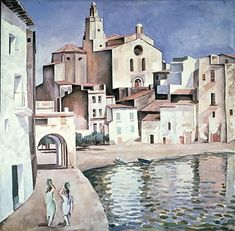 Salvador Dalí / Port Alguer / c.1923 / Oil on canvas