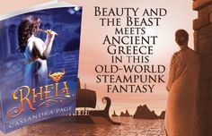 """""""Rheia by Aussie author Cassandra Page is a stunning, breath taking and tissue-inducing fantasy/steampunk/young adult novel which was unp. Prisoners Of War, Ancient Greece, Beauty And The Beast, Old World, Teaser, Novels, Death, Author, Fantasy"""