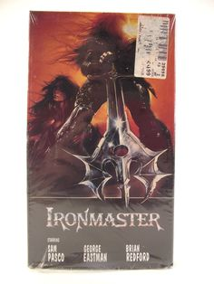 Ironmaster VHS 1993 Video Movie Drama Primitive Man Tribes Weapons Action Adventure Sam Pasco George Eastman Brian Redford NTSC Film #35E by AdriennesAtticStore on Etsy
