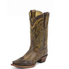 ca8132d7ca8 Tony Lama Ladies Vaquero Bark Santa Fe Call for price and availability  Western Boots