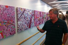 Cancer patient's art shows raging battle, beauty of hope