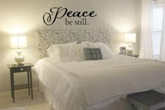 Peace Be Still Christian Wall Quotes