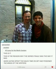 AFTER WATCHING THE END OF SHERLOCK S2, THIS EXPLAINS EVERYTHING ABOUT THE MERLIN FINALE.