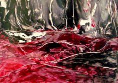 Encaustic auf Papier, 60x42 cm, ohne Rahmen Artwork, Painting, Paper, Frame, Abstract, Painting Art, Work Of Art, Paintings, Paint