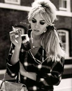 Only the Parisian can make smoking look cool
