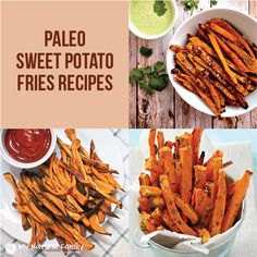10+Favorite+Paleo+Sweet+Potato+Fries+Recipes