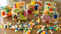 What to do with all your melt and pour soap scraps.