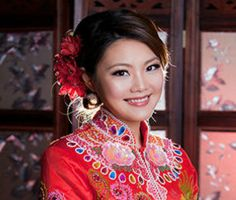 Gallery For > Traditional Chinese Wedding Hairstyles