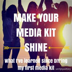 Things I've Learned Since DIY'ing My First Media Kit + FREE Printable
