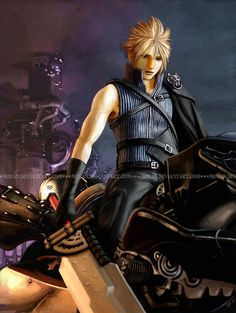 One Night in Midgar by *moyan - Final Fantasy VII - Cloud Strife