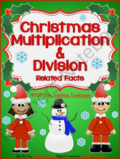 math worksheet : 1000 images about 3rd grade on pinterest  common core math  : Christmas Division Worksheet