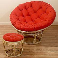 Mushroom Chair My Birthday Papasan Cushion Papasan