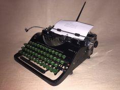 Schreibmaschine Groma N um 1951 portable typewriter