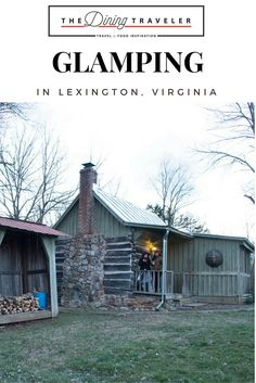 Glamping in Lexington, Virginia. Our experience booking a glamping experience with @glampinghub  For a luxurious rural getaway, I recommend Glamping in Lexington, Virginia. Great wine, good company, and a beautiful cabin is what good memories are made of.