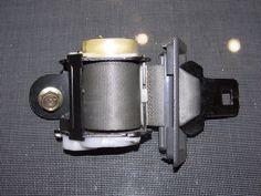 86-88 Toyota Supra OEM Gray Seat Belt - Rear Left