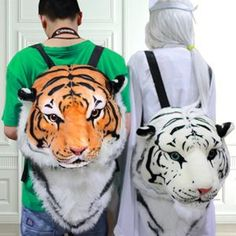 Tiger Backpack / Mochila Tigre Wh259 Kawaii Clothing • Kawaii Clothing • Tictail