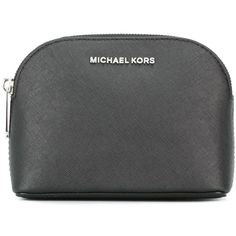 Michael Michael Kors Cindy Beauty-Case (£54) ❤ liked on Polyvore featuring beauty products, beauty accessories, bags & cases, black, toiletry bag, purse makeup bag, toiletry kits, cosmetic purse and makeup purse