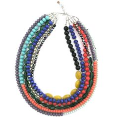Cool and Collected necklace by Elva Fields