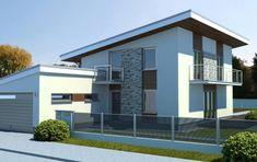 Návrh domu Solar plus od APEX ARCH s.r.o. Home Fashion, Solar, Mansions, House Styles, Outdoor Decor, Home Decor, Decoration Home, Manor Houses, Room Decor