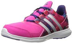 the best attitude 1d980 6f365 adidas Performance Girls Hyperfast 20 k Running Shoe Shock PinkMetallic  SilverCollegiate Purple 105 M US Little