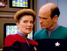 Captain Janeway and the Doctor