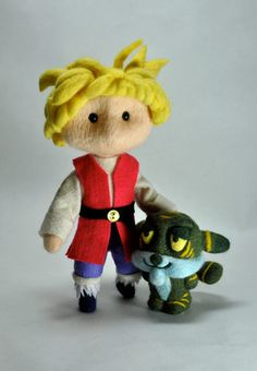 *NEEDLE FELT ART ~ Adam-with-Cringor.jpg by POP Prolific, via Flickr