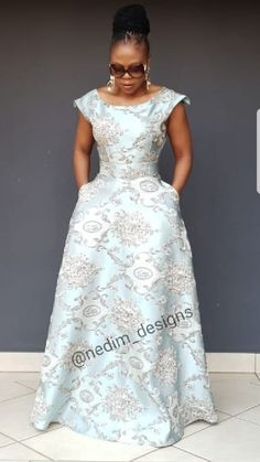 Maxi dresses @nedim _designs +27829652653 Long African Dresses, African Print Dresses, African Fashion Dresses, African Clothes, Dress Outfits, Dress Up, Maxi Dresses, Africa Fashion, African Attire